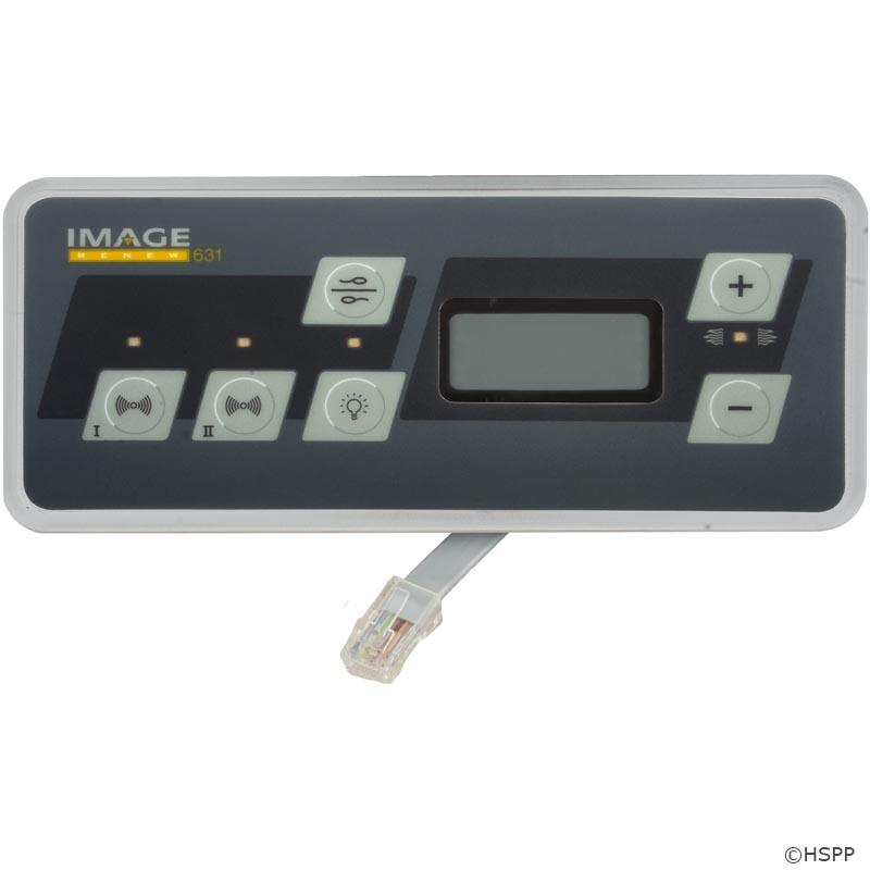 Image Spas Topside Control